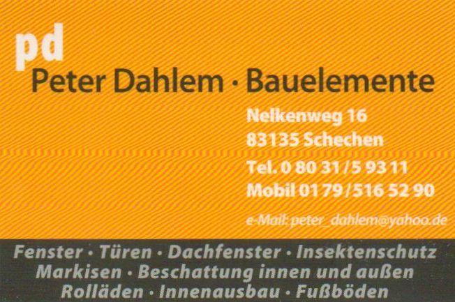 Peter Dahlem - Bauelemente