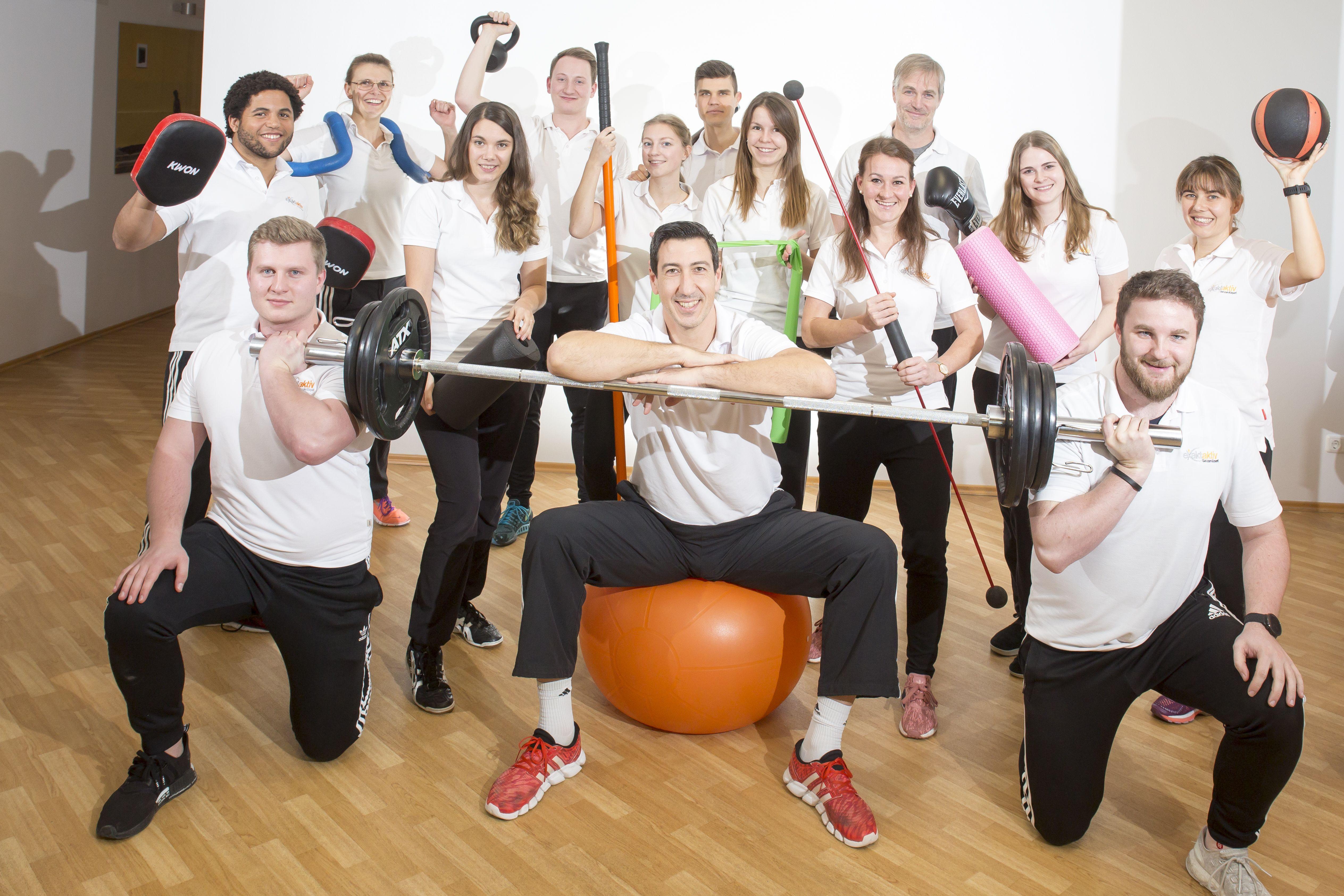 Team exaktaktiv München Praxis für Physiotherapie und Sporttherapie in München Westpark