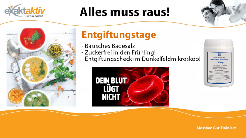 Entgiftungstage