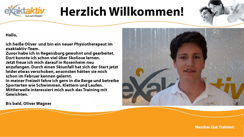 Physiotherapeut Oliver Wagner