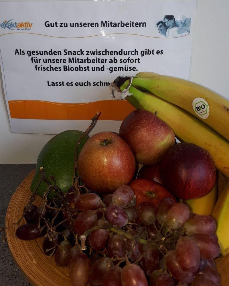 Obst für unsere Mitarbeiter