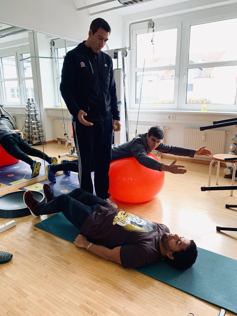 exaktaktiv münchen Krankengymnastik